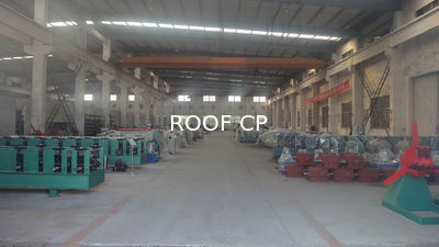 China Roof Panel Roll Forming Machine Company