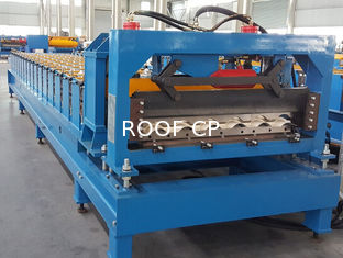 চীন CE Roof Panel Roll Forming Machinery 18 Stations 5 Tons De - Coiler Single Chains সরবরাহকারী