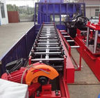 China Rectangular Rainspout Roll Forming Equipment for Rainwater Downpipe distributor
