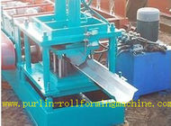 China Durable Seamless Gutter Machine , Water Gutter Making Equipment Former Line distributor