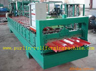 Best High Speed Glazed Tile Cold Roll Forming Machine 0 - 20 m/min Red Roofing Panel or Customized for sale