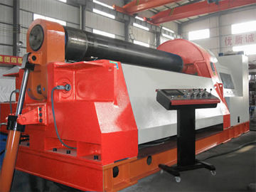 China 4 Rollers CNC Hydraulic Rolling Machine Prebend Ends of Steel Plate for Getting Best Jointson sales